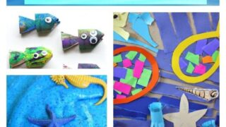 Ocean crafts for children