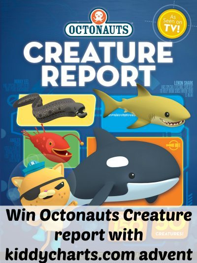 Octonautrs Creature Report: Header