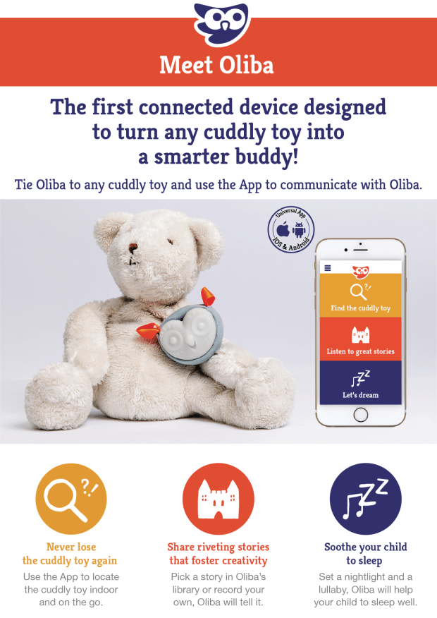 If you are wondering what Oliba is - then this explains it perfectly. A little owl that helps your kids to keep their favourite toy, and reduce separation anxiety and fear of the dark too!