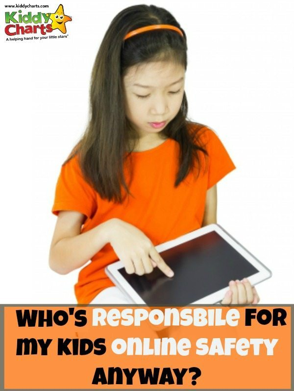 Just who should be responsible for kids online safety - shouldn't it everyone play a role in our kids eSafety?