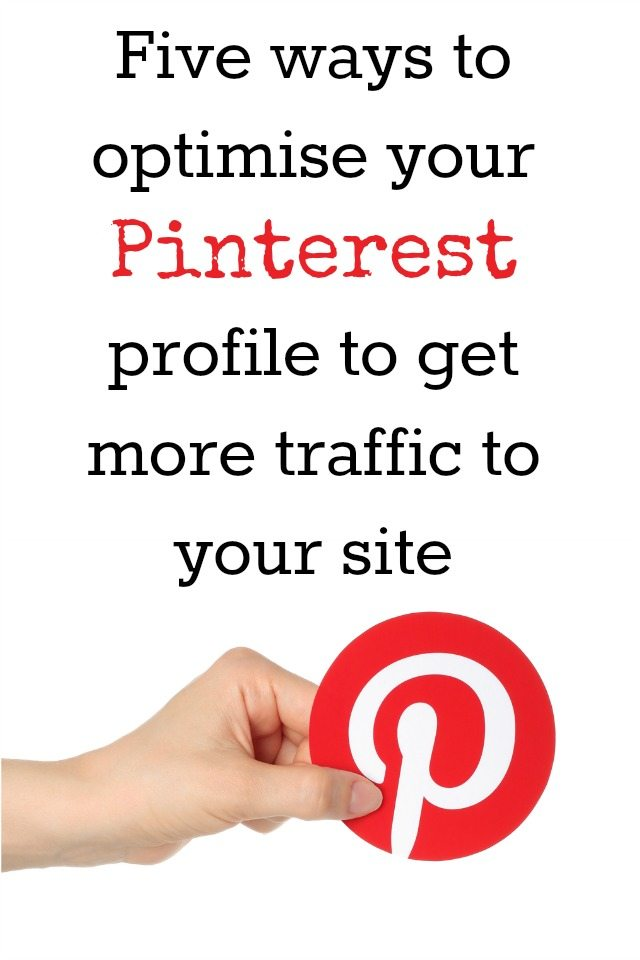 Are you looking to use Pinterest to get your traffic to your site? We have five ways to optimise your profile to improve traffic and make your profile more appealing to visitors. In addition, we include a presentation that will help you use Pinterest with success.