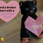 Origami Valentine: How to mend a broken heart