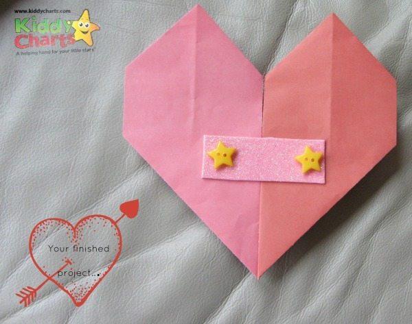 Origami Valentine: Mended