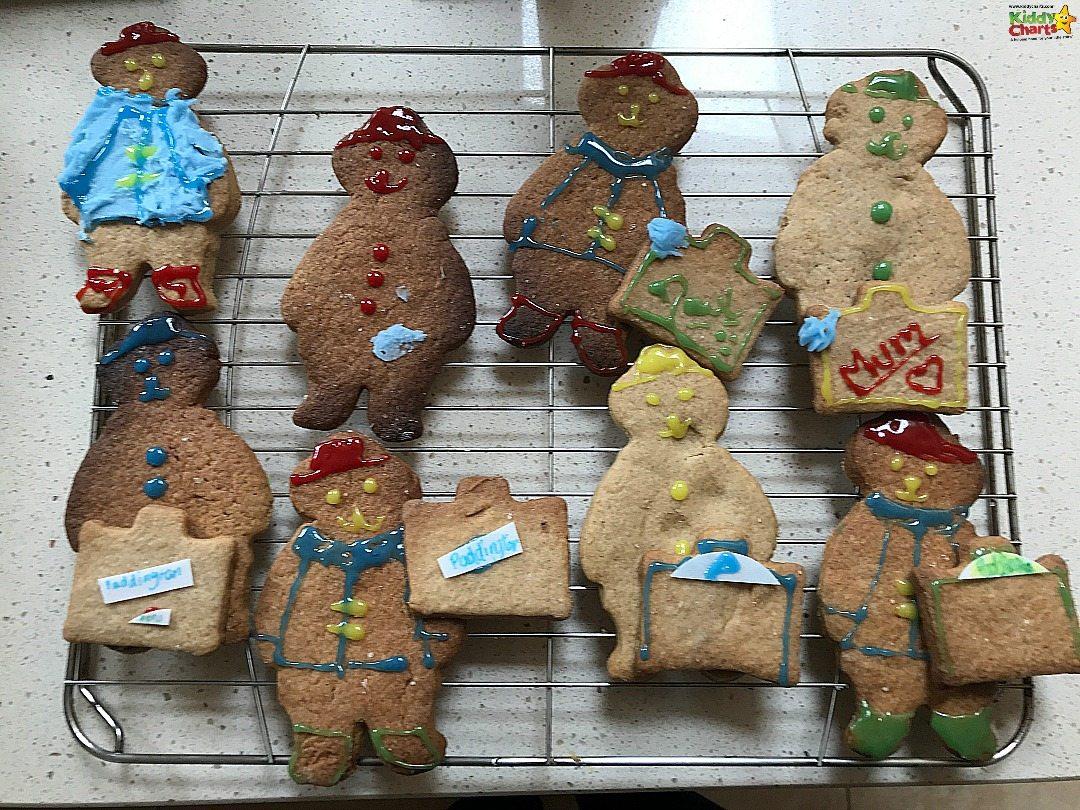 Here are the finished Paddington Bear biscuits! #Paddington2