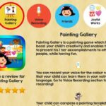 Getting your kids to create their own little masterpieces with Painting Gallery