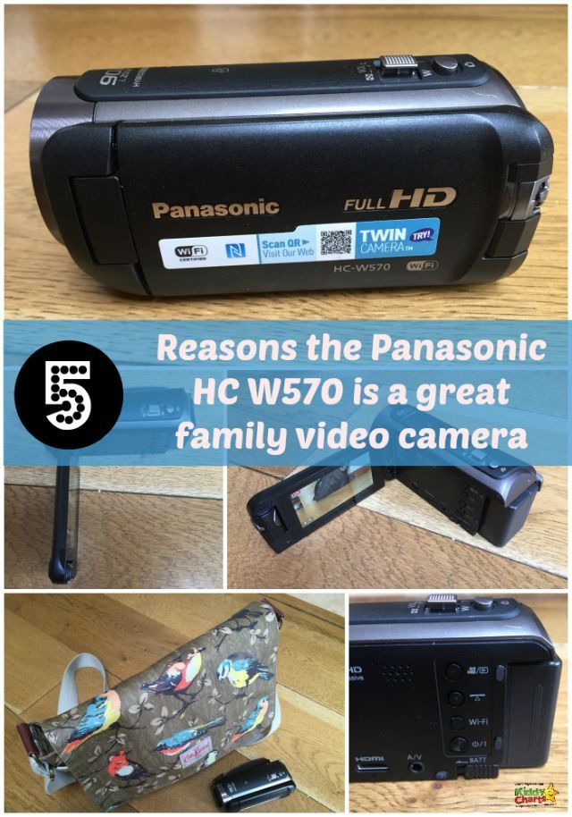 If you are looking for a great video camera for the family - why not take a look at the Panasonic HC W570 - a great choice for us!