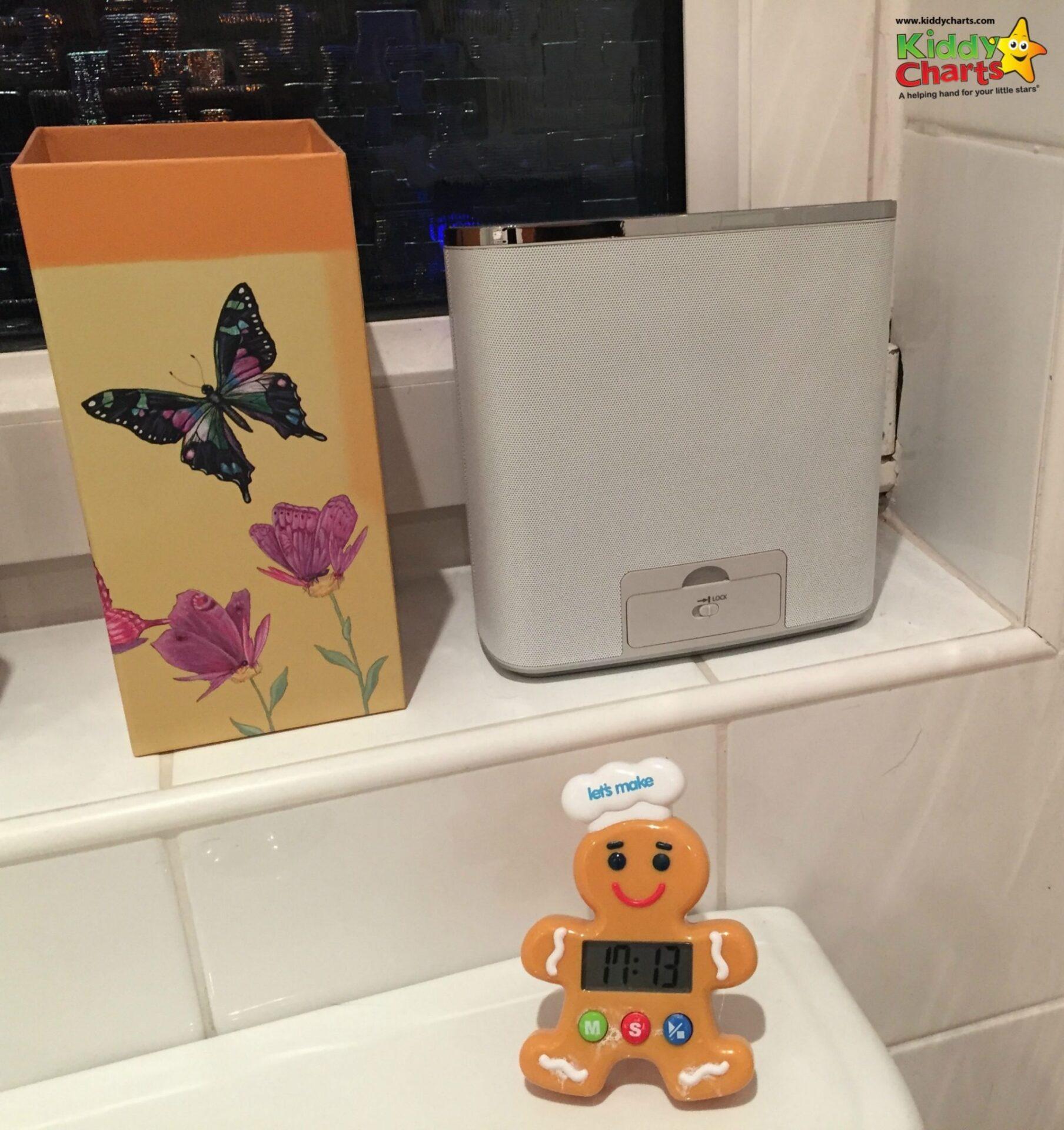 Panasonic waterproof portable speakers - in its place!