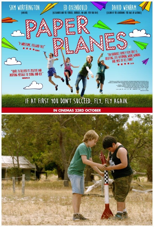 Paper Planes is a great family film that the kids will love, and the adults will laugh and cry at too!