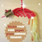 Simple Chinese New Year crafts: Paper plate dragon