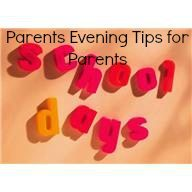 Parents evening tips: For parents