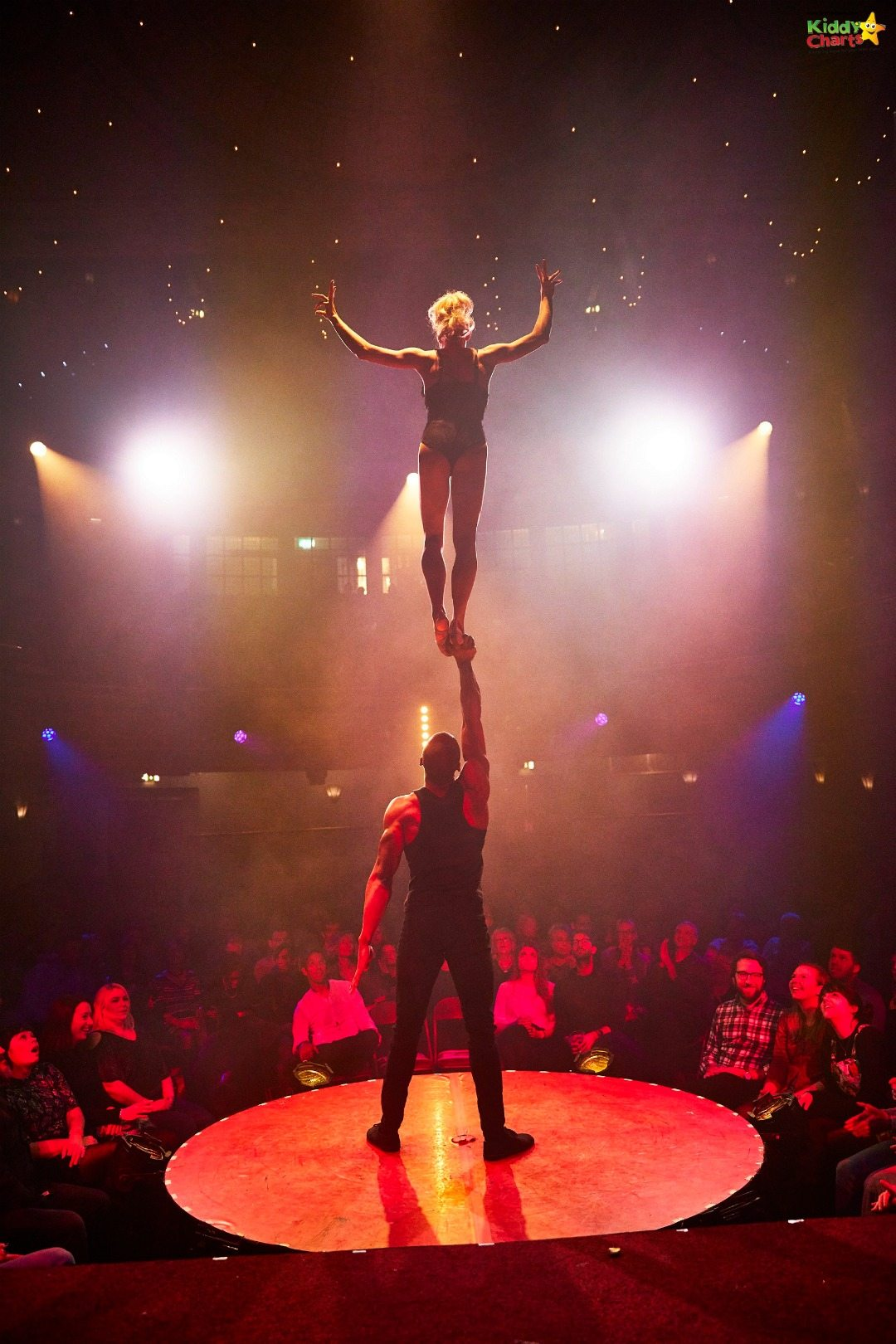 This isn't the harmless rudeness for school boys - this is just stunning skill from the La Petite Soiree performers.