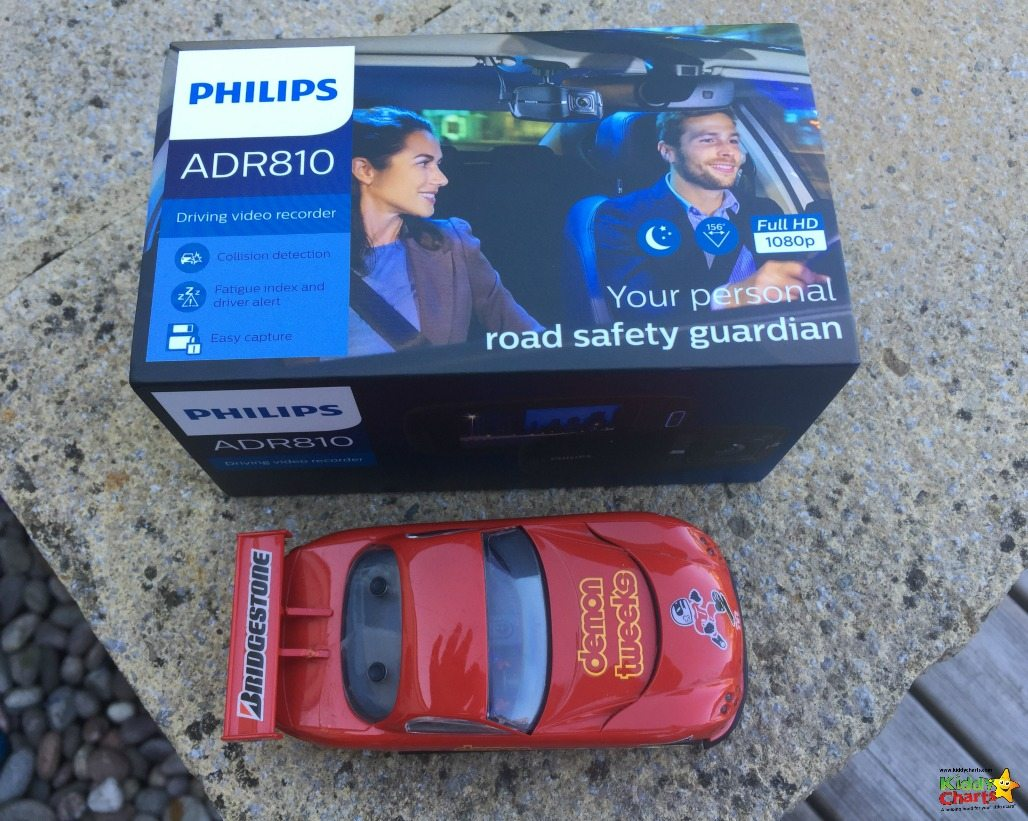 Shame the Dash Cam won't go in my son't Scalectrix car - it might just work there you know!