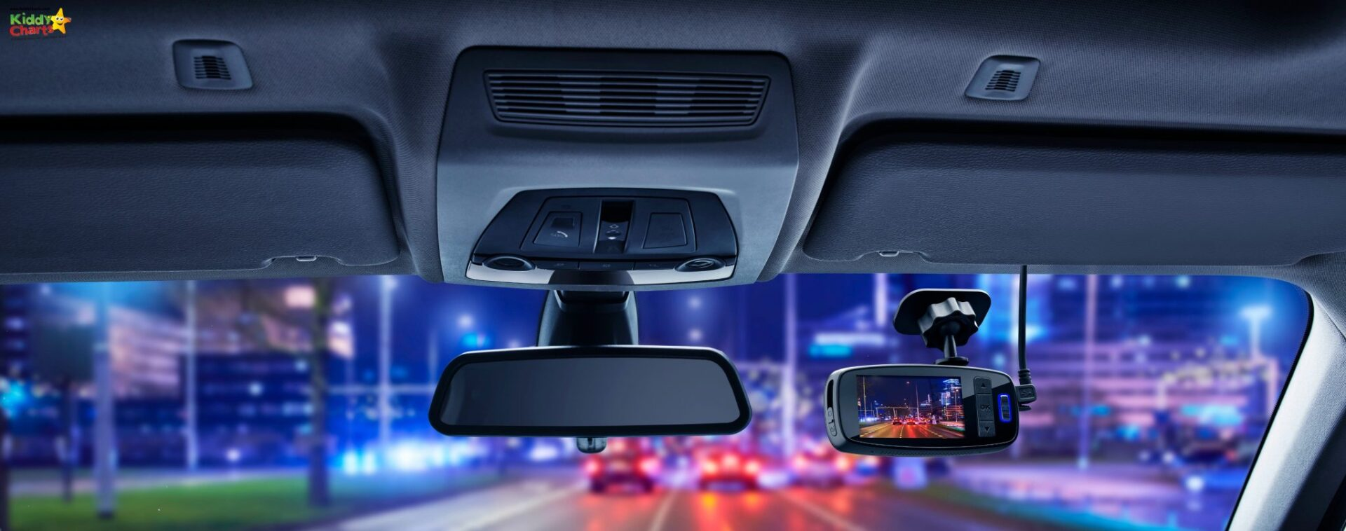 The Phiips Dash Cam looks stylish.