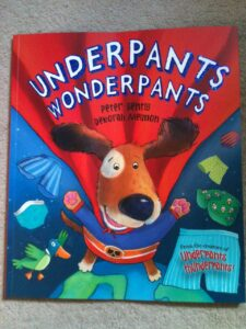 Underpans Wonderpants: Cover