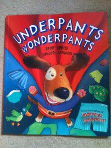 Underpans Wonderpants: Cover
