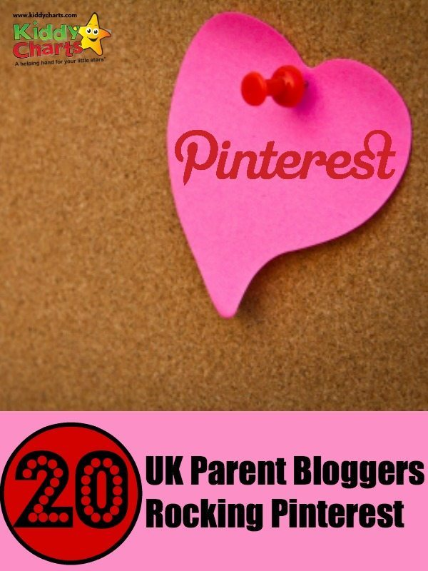 We LOVE Pinterest - here are 20 of our favourite UK parent bloggers rocking the platform!