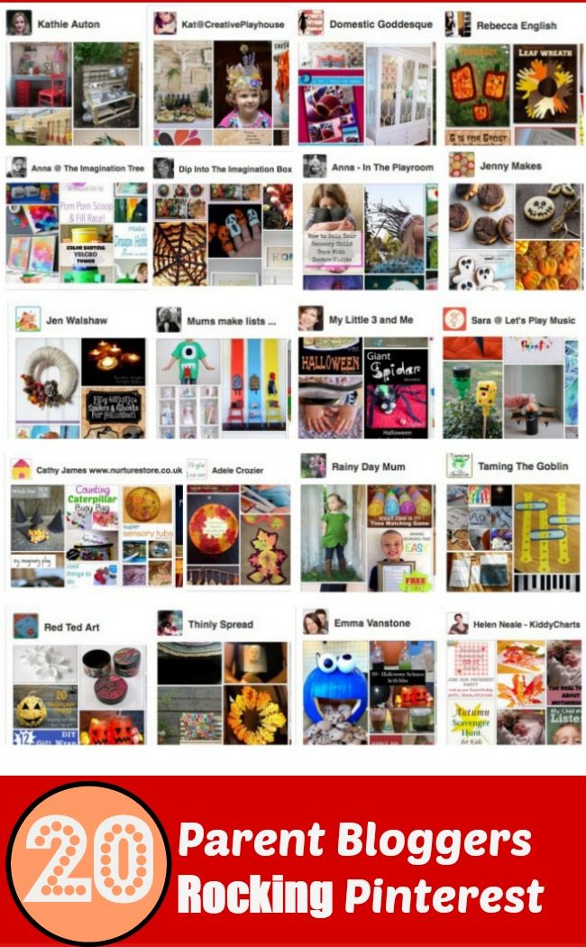 How you ever wondered who to follow in the UK on Pinterest - look no further, here are the best pinners from the world of Parent Bloggers in the UK.