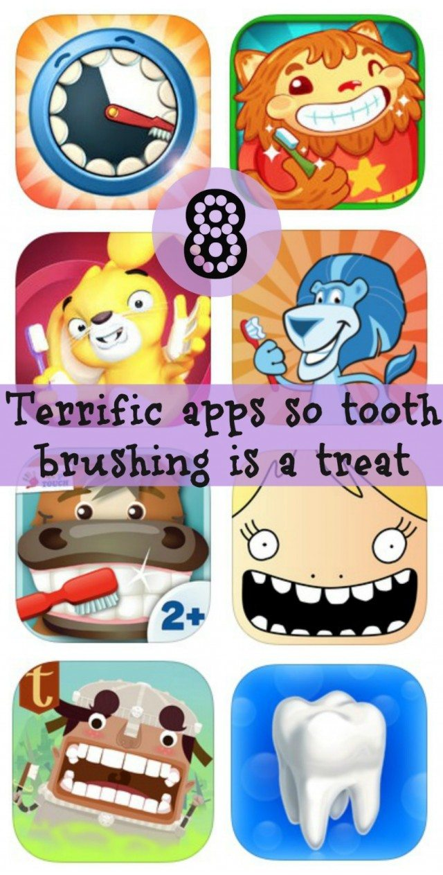 We know brushing your kids teeth can be a real chore - well in this technological age, there is a solution! Here are 8 apps that make brushing your kids teeth fun!