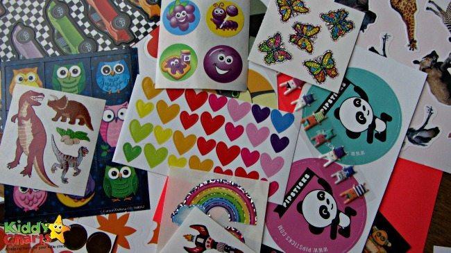 Our sticker haul with Pipsticks sticker club