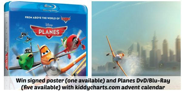 Planes DvD: Collage