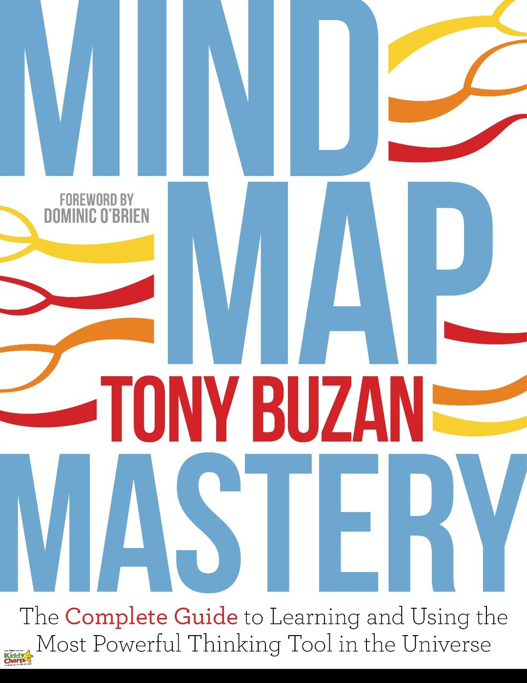 Book cover for Mind Map Mastery - which will used to help with planning a kids party with a mind map. Why not check out our ideas?