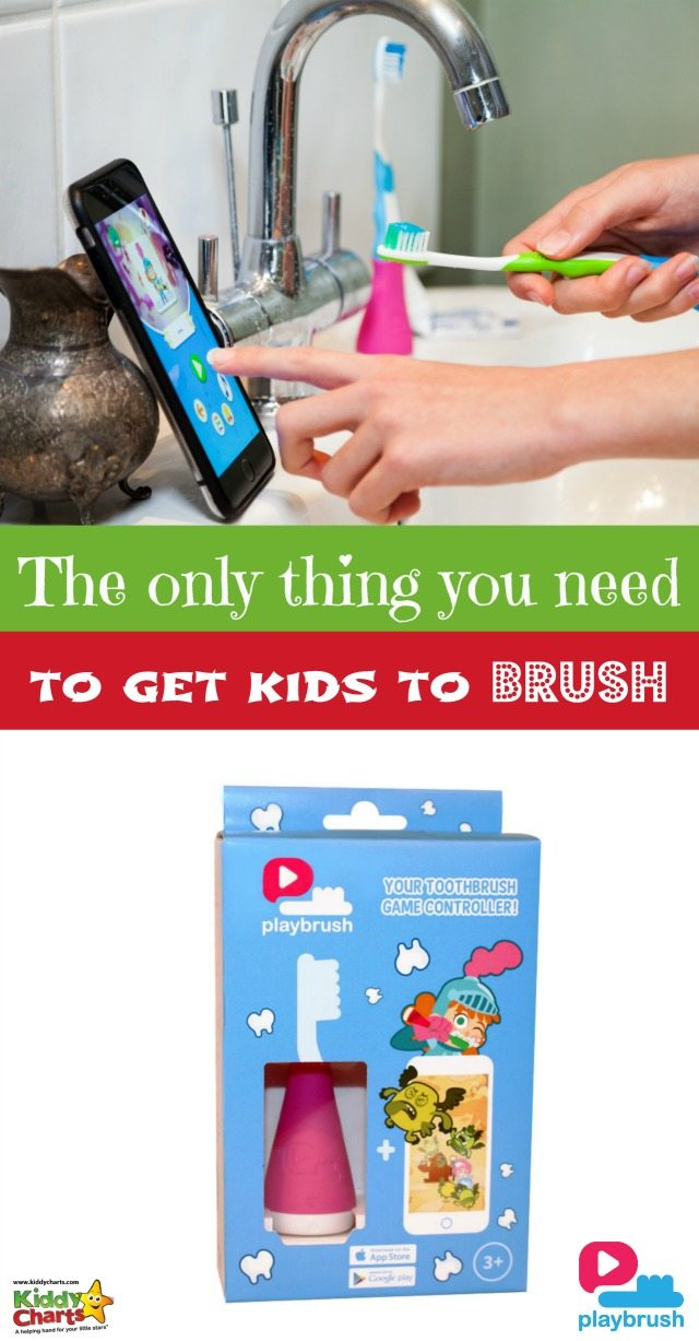 Do you battle trying to get kids to brush their teeth? Have you tried everything to get it to work? Playbrush could be the answer for you, a modern way to solve an age old problem. Find out what its all about by visiting the KiddyCharts site.