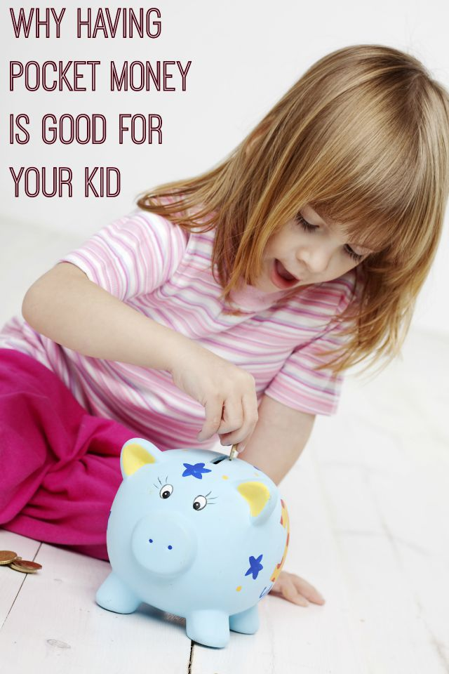 Do your kids get pocket money - that's great, because there are a few reasons why having it is good for your kids.