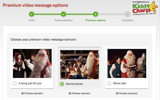 Portable North Pole has clear entry for the Premium Video stories you can choose from too