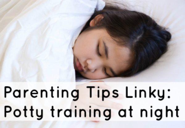 Potty Training at Night: Pinterest