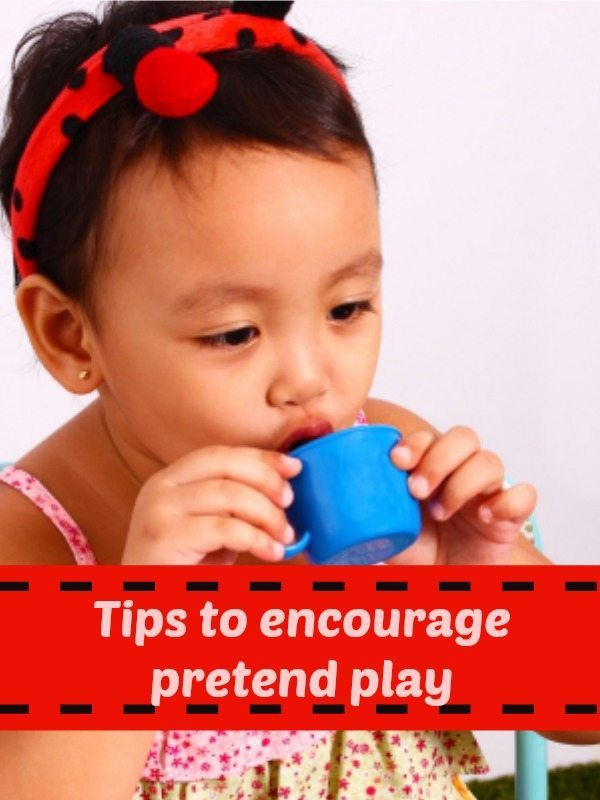 How do we encourage pretend play? We have some resources to helkp you - come link your blog posts up too!