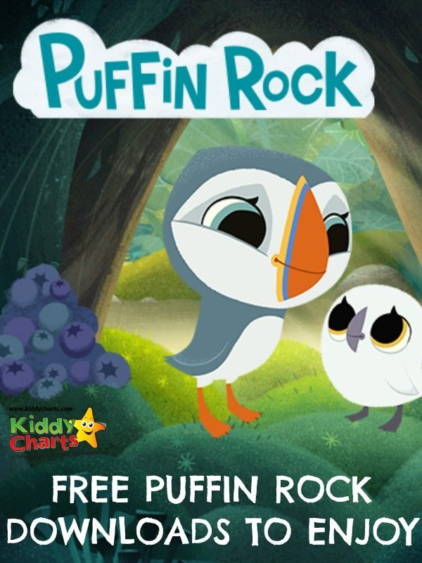 free puffin rock colouring sheets