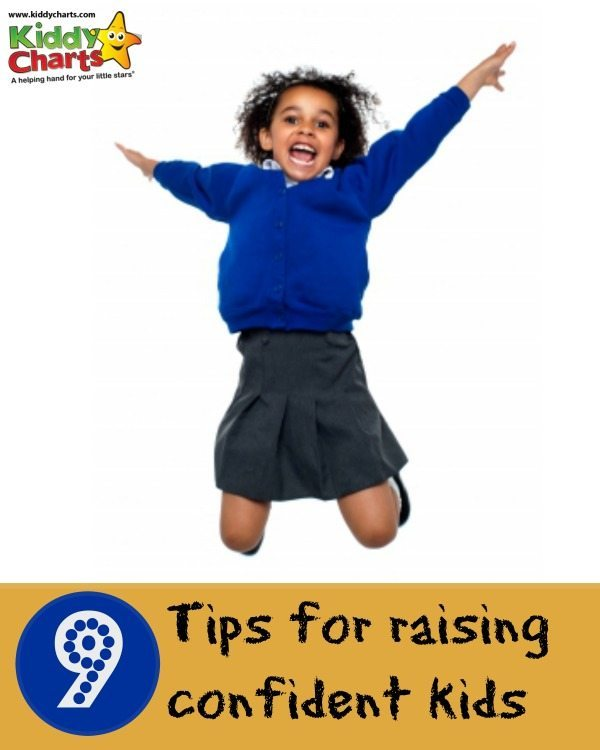 How do we raise confident kids? We have nine tips to help those kids to fly! #kids #parenting #confidence