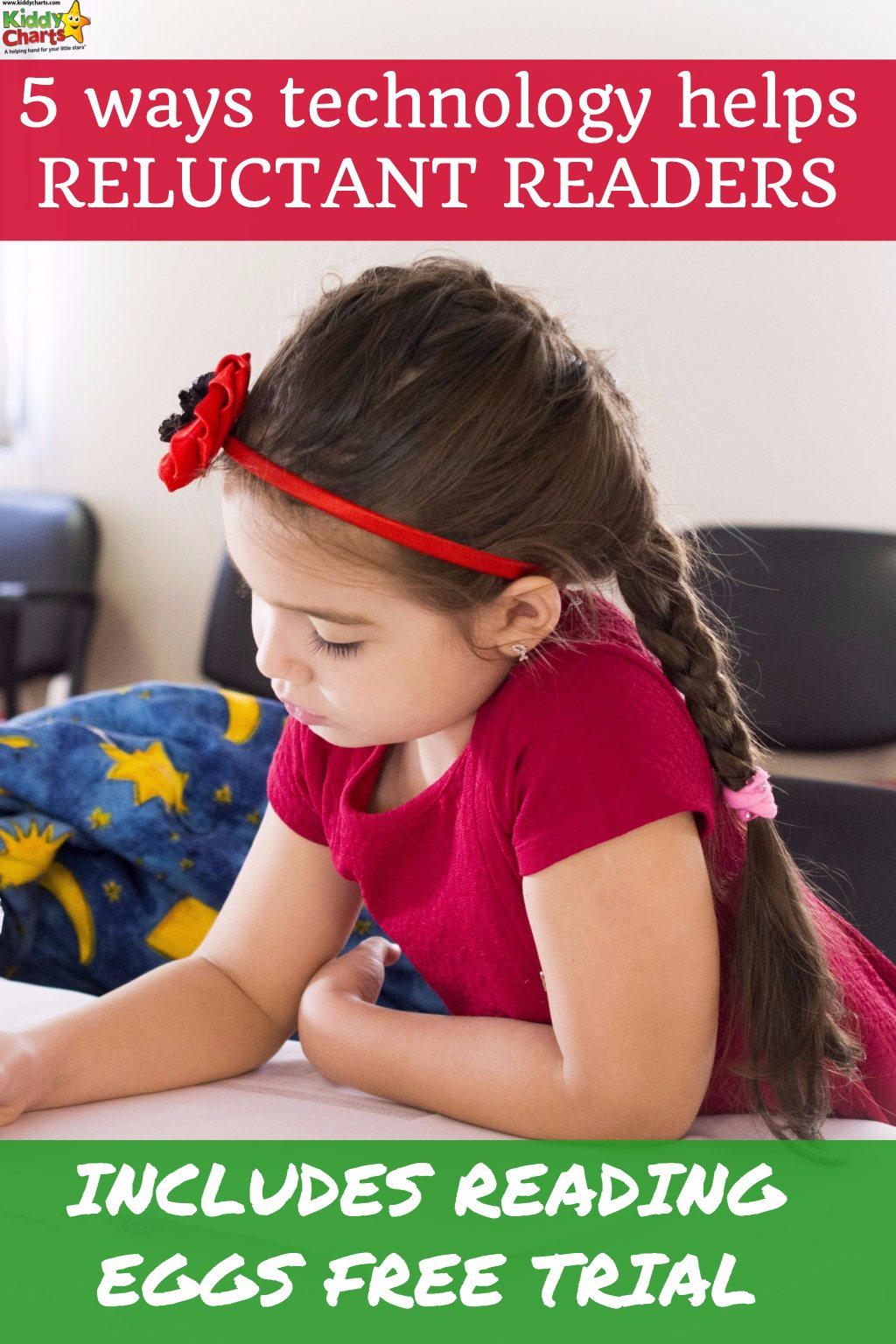 How can technology help the reluctant reader? We have a few ideas for helping your child learn to read PLUS a trial to Rerading Eggs to see if that helps you too!