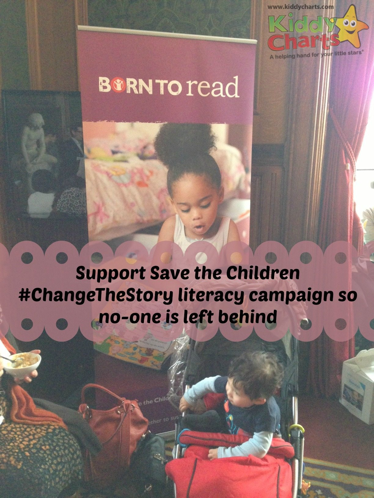 Born to Read: Beanstalk and Change the Story