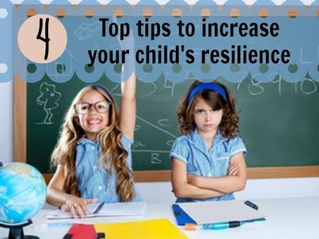 Tips to increase resilience in kids
