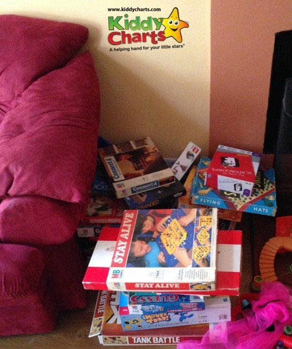 Retro toys: Our stash