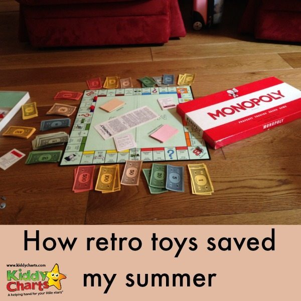 Retro toys: How they saved my summer