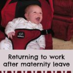 Returning to work …. 5 top tips on leaving baby