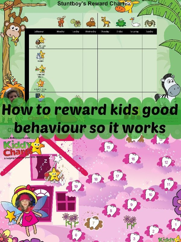 How do we reward good behavour effectively? We have some tips for you #parenting #kids #rewards