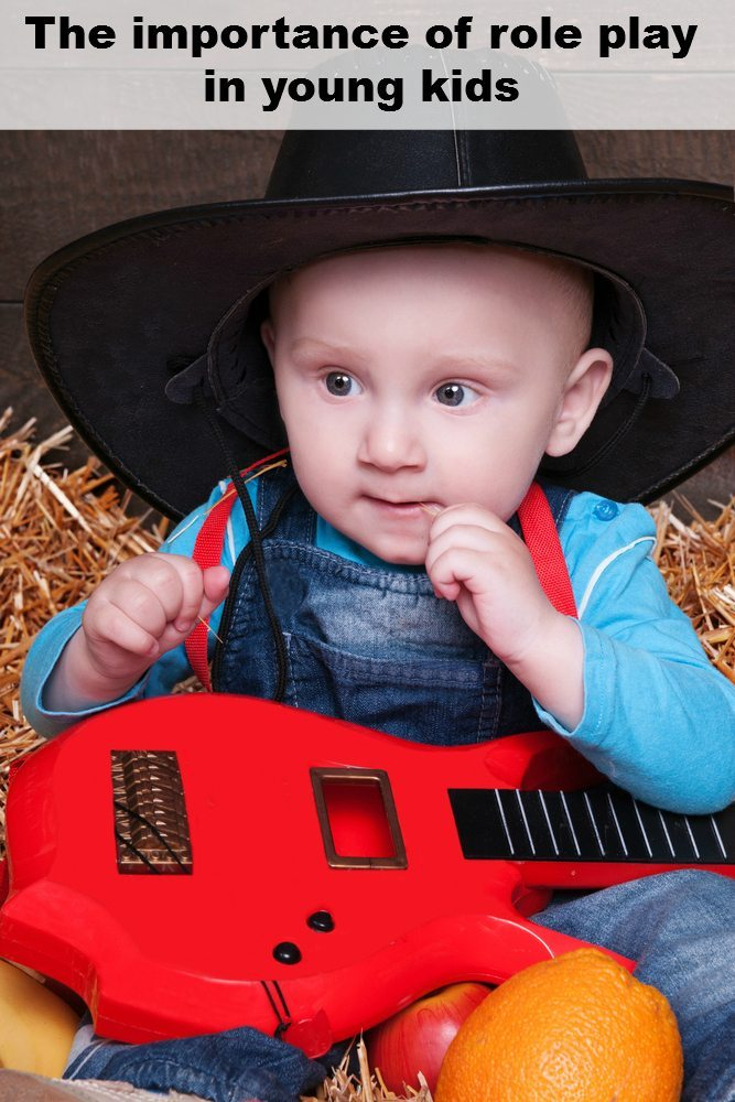 Role Play: Baby with Guitar