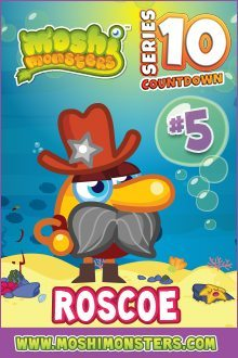 Moshi Monsters Series 10: Roscoe