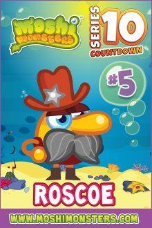 Moshi Monsters Series 10: Roscoe