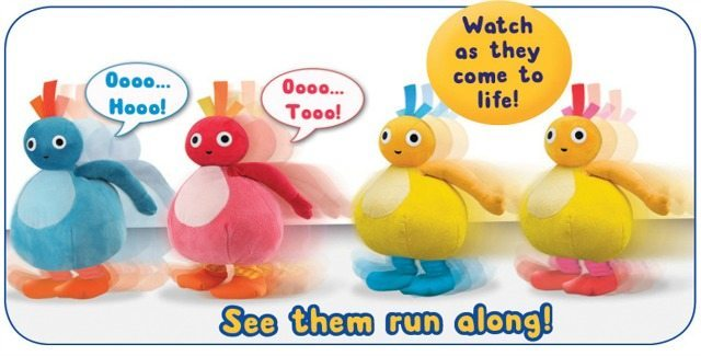 Aren't these Twirlywoos just gorgeous for the kids? And they Runalong just like in the TV program!