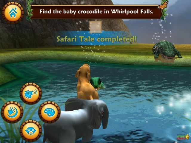 You have completed the Safari Tales task - so go read your book!