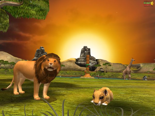 Details on the animals in safari tales are gorgeous.