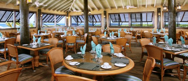 The Seabreeze is the main restaurant within the Verandah Resort and Spa.