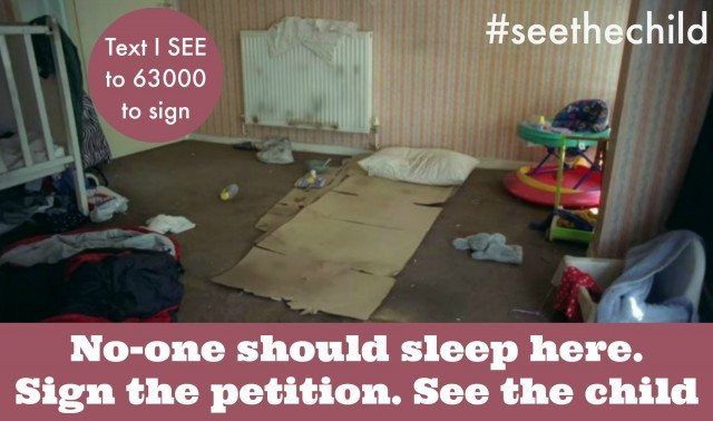 See the Child: Sign the petition NOW!