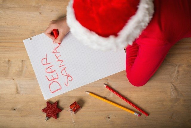 Do your kids write Santa letters each Christmas?