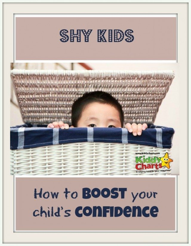 It is hard when are kids are shy - what do we do as a parent to encourage that confidence, but also not to undermine them so they feel we are criticising the way they react to those situations - here are some ideas to help build confidence in your children....