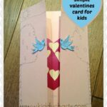 Valentines cards for kids: How to make a love bird card